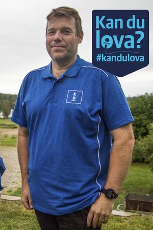 Patric Jonsson, Kristdemokraterna.