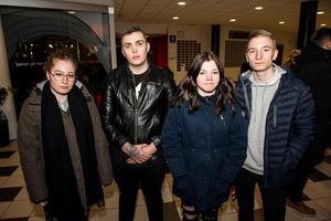 Noomi Moretti, Adrian Sammens, Liv och Milian Moretti från Sollefteå.