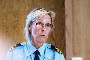 Helena Sundberg, kommunpolis i Bollnäs och Ovanåker.