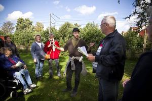 Anders Assis från Ljusdalsbygdens museum berättade om den gamla kafékulturen i Ljusdal.