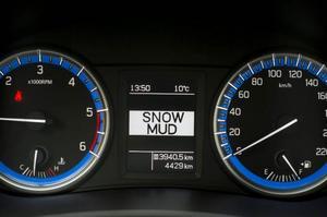 I grunden är bilen framhjulsdriven men bakhjulen aktiveras om underlaget så kräver. I lera och snö kan man låsa systemet för att få ännu bättre grepp.Foto: Pontus Lundahl/TT