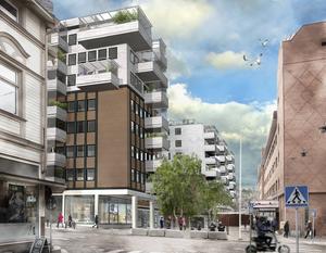 Kvarteret Egypten ska ta form som lägenhetsboenden i centrum. Men detaljplanen har överklagats av bostadsrättsföreningen Dublin, vilket innebär att det inte ännu är klart om bygget får utformas som planerat.