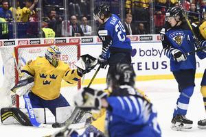 Alnefelt och Sverige stod emot när Finland tryckte på för en kvittering.