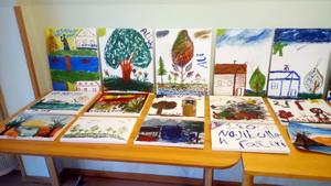 Samtliga konstverk finns utställda på Hotell Östjemten i Kälarne