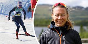 """""""Mitt mål har aldrig varit att åka Sverigecupen, men just nu får jag inte åka något annat. Det är inte så att det är tråkigt med Sverigecupen. Det viktigaste är att jag får tävla"""", säger Emma Wikén."""