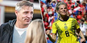 Lars Isacsson (S) har tränat Lina Hurtig i ungdomsåren.