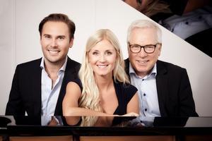 Christian Svarfvar och Emmi Christensson följer med med Anders Berglund på turnén