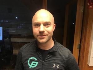 Marcus Lagerberg är verksamhetsansvarig i Gymnastikföreningen Örebro.