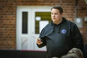 Anders Granlund är ny tränare för Västra Mälardalen Innebandy. Han ska se till att laget tar sig till en högre liga.Foto: Lennye Osbeck