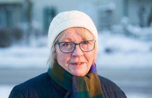 Helena Hyltemark blev vittne till nattens brand på Vallby