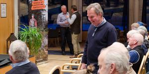 Karl Hedin föreläste för Jägareförbundet Falu jaktvårdskrets på torsdagskvällen.