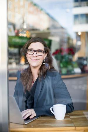 Anna Roosvall är professor vid Enheten for journalistik, medier och kommunikation (JMK) på Stockholms universitet. Foto: Niklas Björling