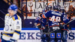 Leksand åkte på tredje raka förlusten i SHL hemma mot Växjö. Foto: Daniel Eriksson/Bildbyrån.