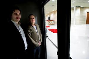 David Holman och Patrik Bergström gläntar på dörren för nya Bolanche. Rockficka, dansgolv och en loungedel kommer att rymmas i lokalerna – bland annat.