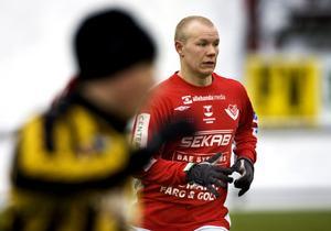 Simon Gustafssson blev utsedd till bäste mittfältare i norrtvåan.