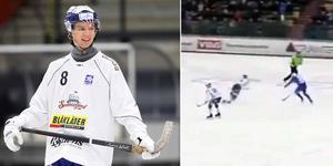 Ludvig Johansson. Foto: Christoffer Million / Bandyplay