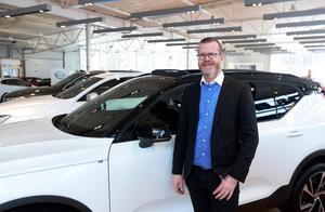 Martin Persson, koncernchef på Bilbolaget.