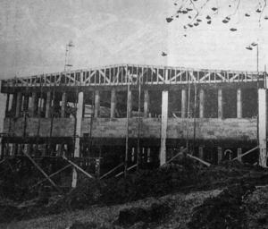 Den nya industribyggnaden som ersatte den nedbrunna blev 40 meter lång och i två plan. 180 fönster skulle se till att det blev en ljus arbetsplats. Byggnaden finns kvar, nu i privat ägo.