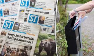 Björn Werner är besviken på ST, som han menar har försämrats allt mer. Bild: Henrik Lundbjörk / Fredrik Sandberg/TT