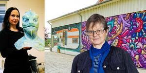 Petra Shara Stoor satsar på maskverkstäder och konstgalleri i Vattlång och i Ljusdal finns ett galleri för gatukonst.