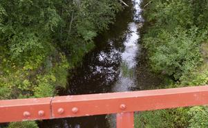 Det krävs strandskyddsdispens för att få bygga även vid vattendrag som Hallstaån.