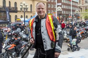 Björn Nordqvist är ordförande i arrangerande Sundsvalls Motor Cycle Club.