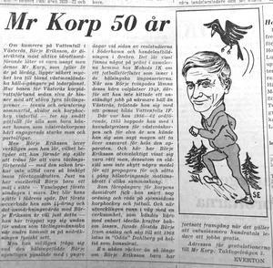 VLT-klipp från 15 oktober 1971.