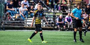 Nyförvärvet från VSK, Fredrik Lundqvist, dras med skadeproblem och saknades mot Sundbyberg.