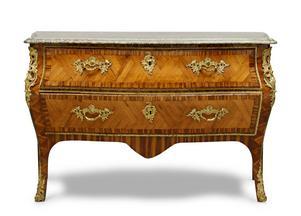 Dyrgrip. Byrån från den Tersmedenska herrgården i Ramnäs såldes för 270000 kronor på Uppsala Auktionskammare. Köparen är en svensk privatperson.