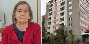 Anny Rönnkvist har bott på Koltrasten i 16 månader och  trivs bra. Speciellt med möjligheten att själv ta hissen ner till restaurangen där hon äter lunch varje dag. Hon har nu fått besked om att även restaurangen blir kvar när det särskilda boendet stängs.