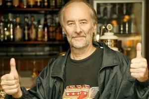 Kjell Höglund på The Bishops Arms 2006. Bild: Lenz Foto