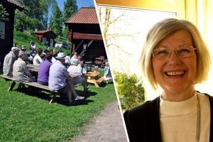 Kommunchef Annika Strand berättar att Hedemoras kommunledning gärna vill driva Gammelgårdens café.