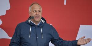 Jonas Sjöstedt, Vänsterpartiets partiledare. Foto: Henrik Montgomery/TT
