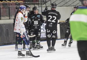 Sandviken kunde fira en stark seger hemma i Göransson.
