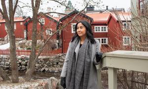 Melanies föräldrar kommer från Chile men är själv född i Sverige.