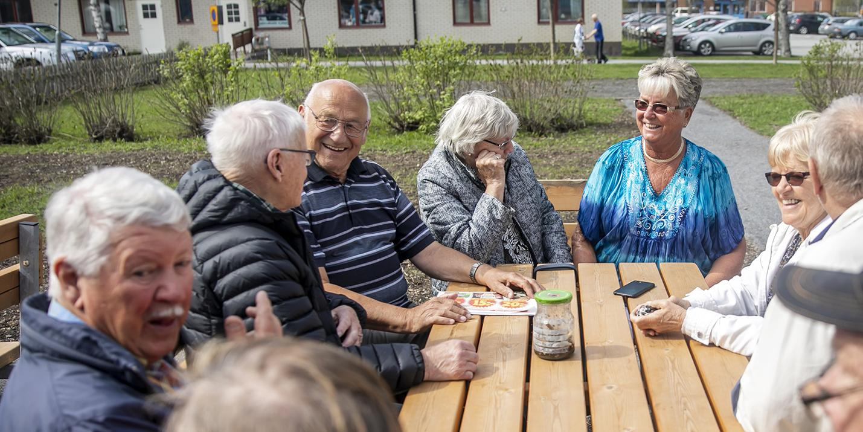 Nolervik: De lyckliga pensionärerna som har hundra meter till allt:
