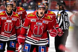 Glenn Gustafsson gjorde mål mot Färjestad förra säsongen. Nu vill han kliva fram igen. Bild: Johan Bernström/Bildbyrån