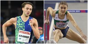 Andreas Kramer och Elvira Herman är två av de största stjärnorna i U23-EM i friidrott, om inte skador eller andra oförutsedda saker inträffar de närmaste veckorna. Bild: TT