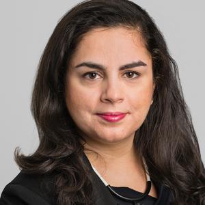 Oppositionslandstingsråd Talla Alkurdi tror inte att ett byte av huvudman på Nynäsbanan kommer ha så stor effekt på pendeltågstrafikens kvalitet. Foto: SLL
