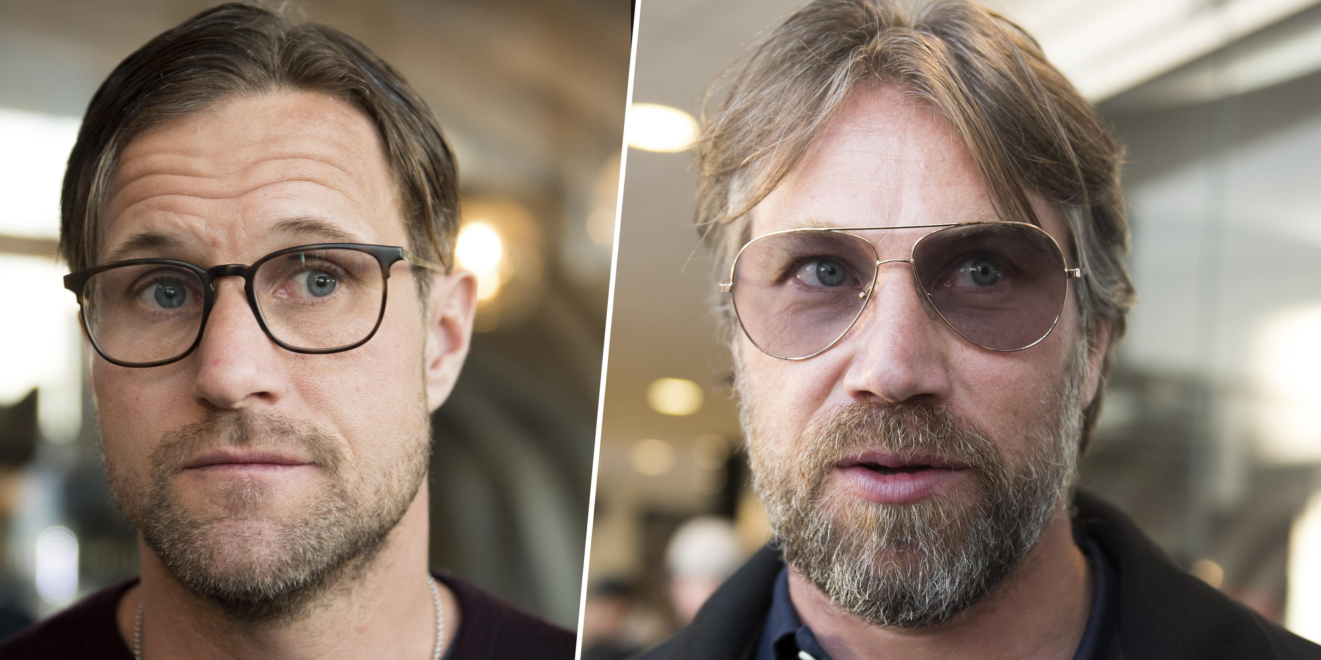 Markus Näslund och Peter Forsberg tävlade – men hade samtidigt kul. Det är viktigt med en balans, tycker båda.