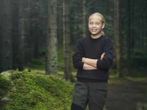 Nova, 12 år, från Västerhaninge är en av de elva deltagarna i Wild Kids. Foto: Daniel Ohlsson/C More