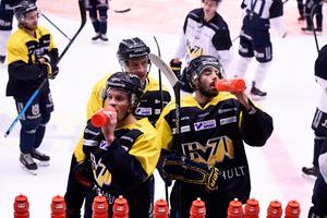 HV71 måste vinna mot Färjestad på måndagskvällen för att säsongen inte ska vara slut.