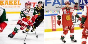 Adam Masuhr och Mattias Nörstebö spelar tillsammans mot Tingsryd. Foto: Bildbyrån, Rickard Pettersson