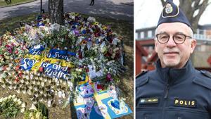 """Så kan Skaraborgspoliser hedra bortgångne kollegan – """"Den som vill har möjlighet att bära sorgband"""""""
