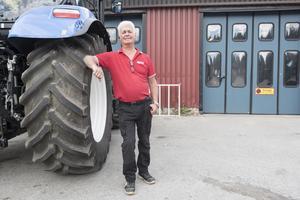 Sture Söderholm jobbar som butiksansvarig på serviceföretaget Boströms Traktor & Maskin i Överhörnäs.