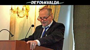 Lars-Edvin Lundgren (SD) har anmälts falskt åtta gånger på ett år för rattfylleri. Bild: Lennart Lundberg