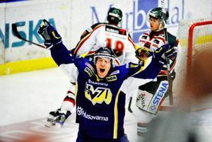 Martin Thörnberg sköt sitt HV 71 till SM-final, där Färjestad väntar.