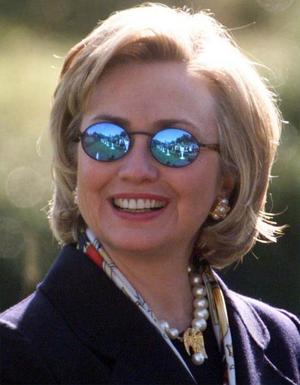 Hillary Clinton då.  Republikens