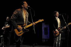 Patrick Sweany och hans band bjöd på en snygg uppvisning i bluesrock.