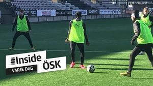 JUST NU: Jobbar för högtryck för att få Lahne spelklar – följ rapporteringen från ÖSK:s träning